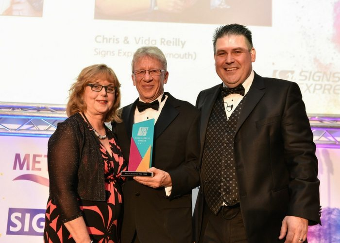 Signs Express Franchisee of the Year Plymouth