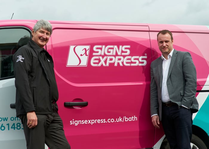 Signs Express comes to Bath