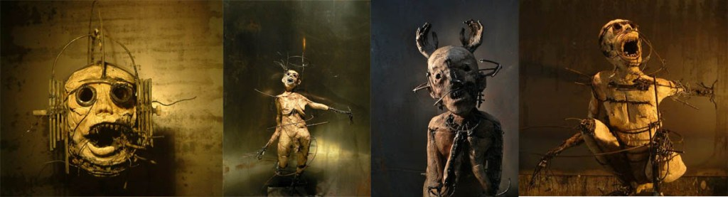 Oliver de Sagazan sculptures