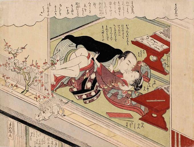 """""""Le romantiche avventure di Man'emon"""" di Suzuki Harunobu"""