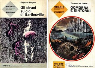 Le copertine di Urania disegnate da Karel Thole