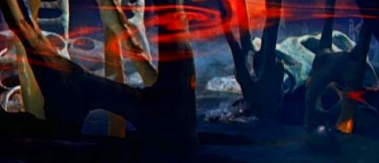 """Le coloratissime scenografie di Alfred Hirschmeier di """"Soyux 111 Terrore su Venere"""""""