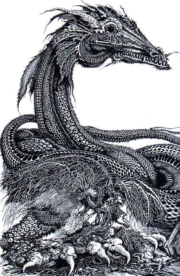 Ian Miller - Dragons