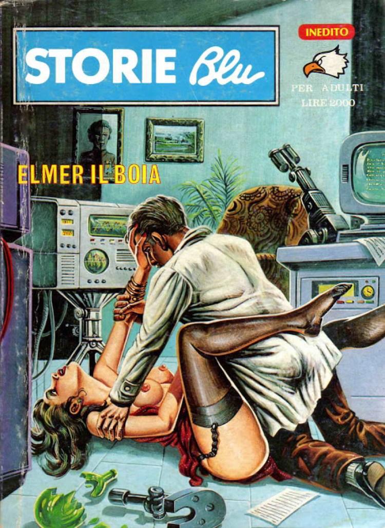 Storie blu - fumetti erotici - porn horror
