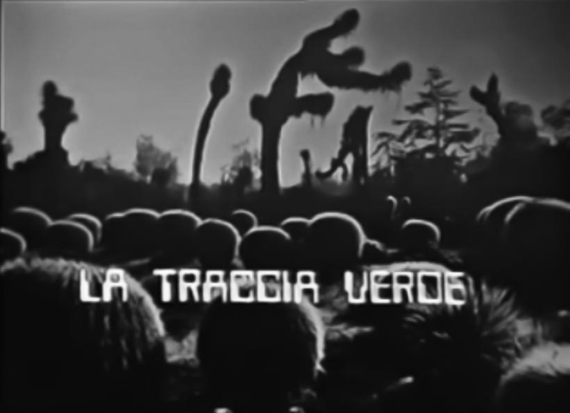 """""""La traccia verde"""" (1976)"""