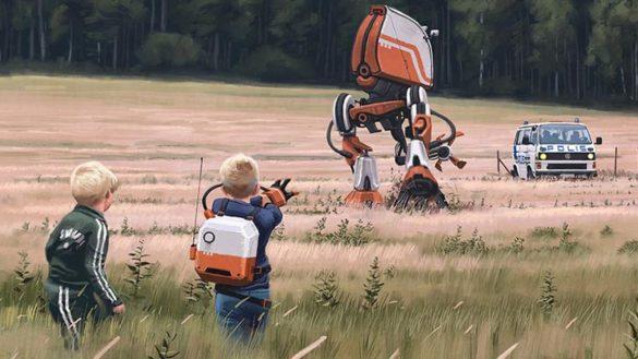 SERIE TV – TALES FROM the LOOP: il futuro ispirato alle illustrazioni fantarurali di Simon Stålenhag