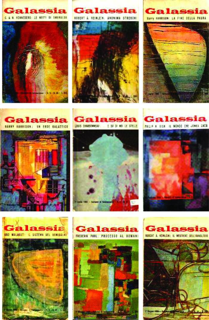 Le copertine di Galassia - Rocco Borella