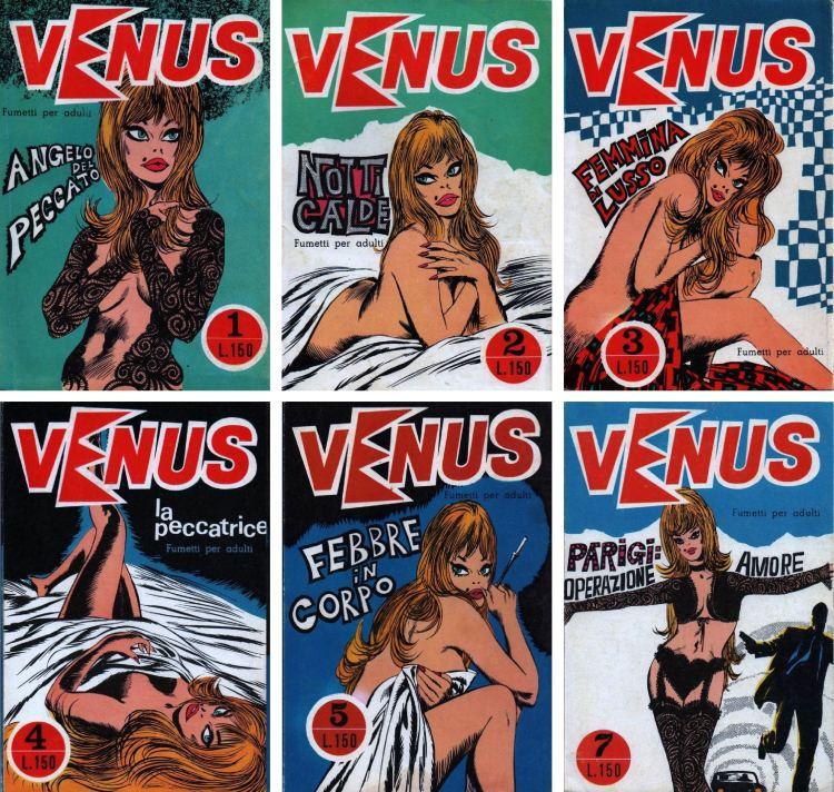 Le sexy eroina del fumetto erotico italiano: la semisconosciuta Venus