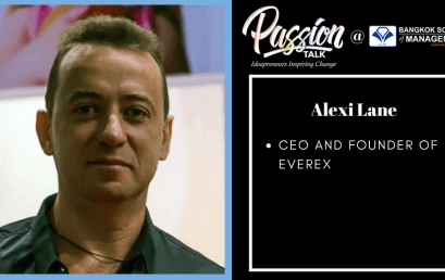 Date: July 16th  Passion Talk – Ideapreneurs Inspiring Change Serial Events:Meet Alexi Lane – CEO and founder of Everex