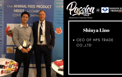 Date: May 24th  Passion Talk – Ideapreneurs Inspiring Change Serial Events: Meet Shinya Lino – CEO of HPS Trade Co.,Ltd