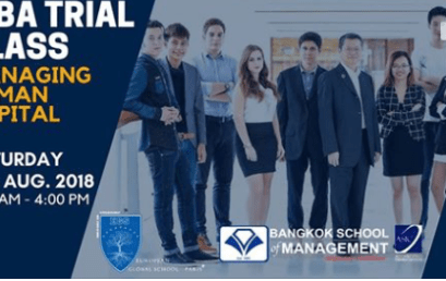 Date: August 18th MBA Trial Class: Managing Human Capital