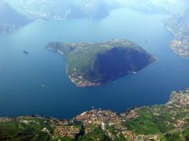 Il lago di Iseo e Monte Isola