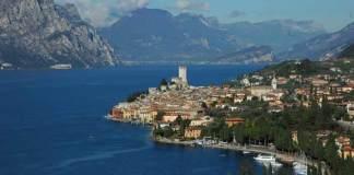 Una veduta del Lago di Garda
