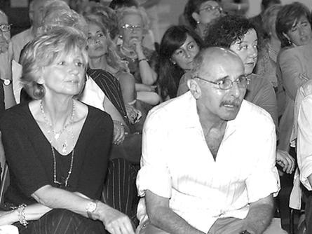 Renato Rovetta con Magda Pallavicini
