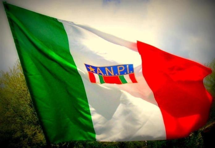 La bandiera dell'Anpi