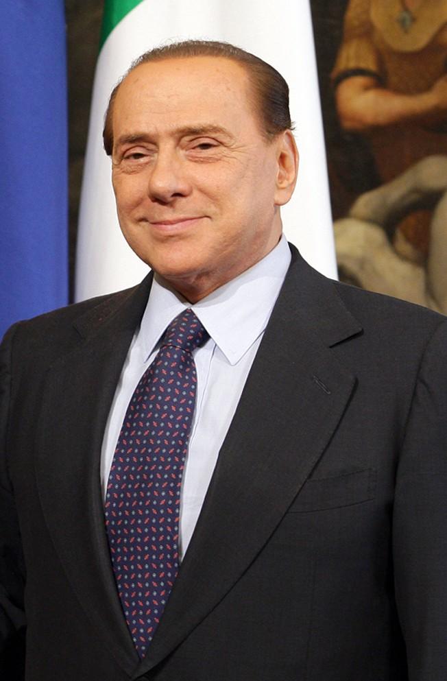 Il politico Silvio Berlusconi, foto presa da Wikipedia