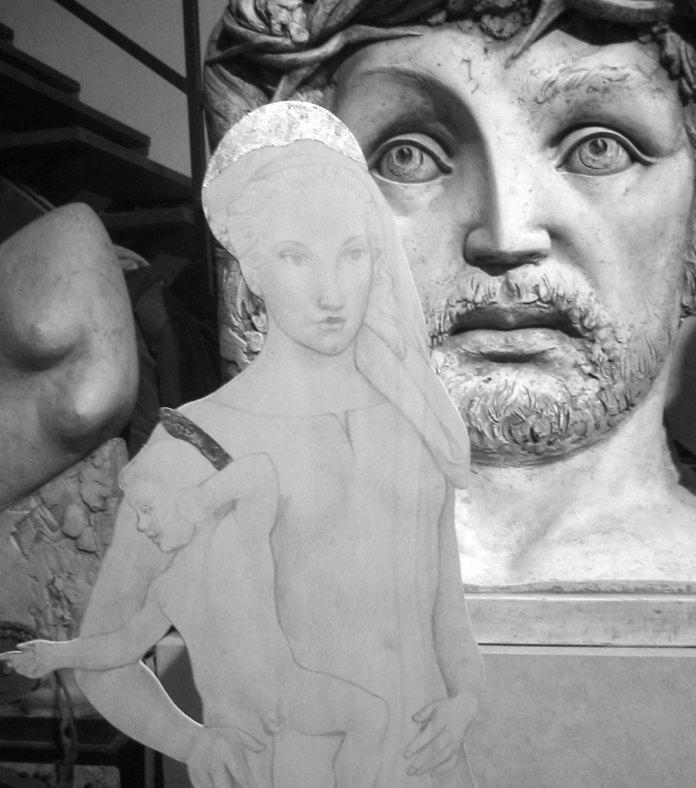Un bozzetto della Madonna di Cesare Monaco