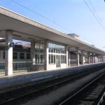 Brescia vista binari- (sala attesa 4 e 5 marciapiede) -
