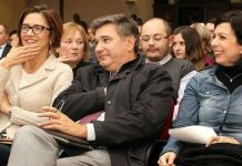 Mariastella Gelmini e Adriano Paroli, foto mariastellagelmini.it