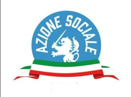 Il logo del movimento di destra Azione Sociale