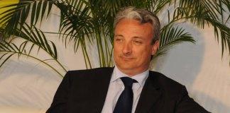Il presidente del gruppo Feralpi Giuseppe Pasini.