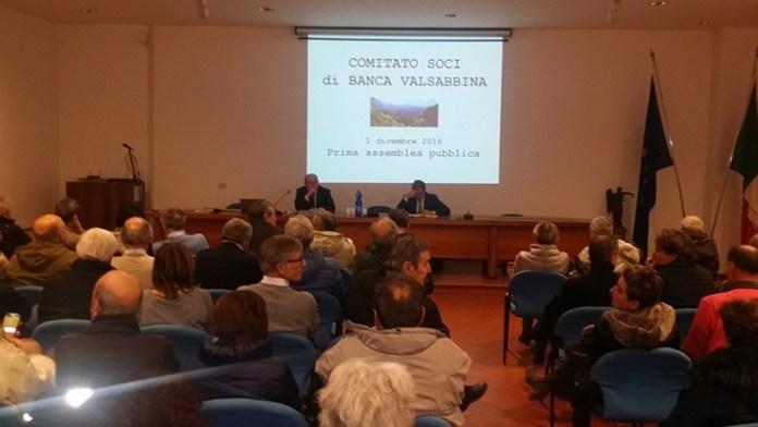 L'ultima assemblea dei piccoli azionisti di Banca Valsabbina - 2 dicembre - www.bsnews.it