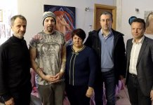 Gli onorevoli leghisti Caparini e Borghesi in visita a William Pezzullo con il sindaco di Travagliato, www.bsnews.it