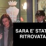 Sara Capoferri all'uscita della caserma