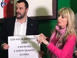 Matteo Salvini e Viviana Beccalossi
