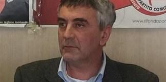 Il segretario di Rifondazione Comunista Fiorenzo Bertocchi