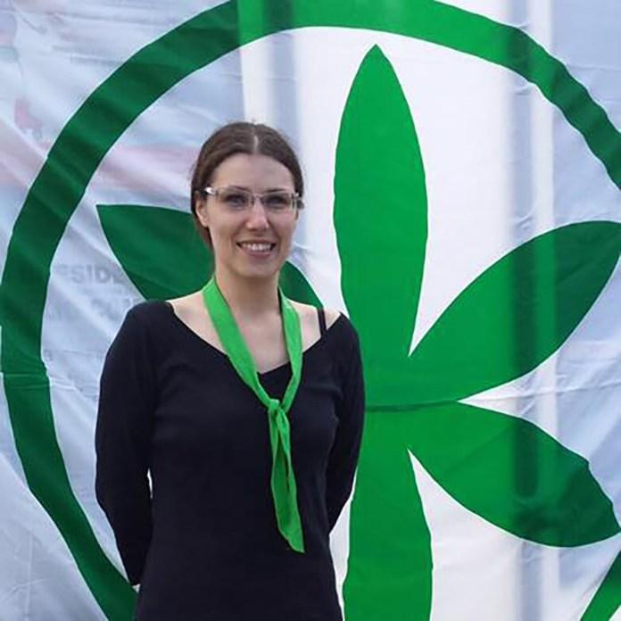 Federica Epis. segetaria leghista di Orzinuovi, foto da Facebook