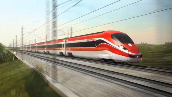 Un treno Freccia Rossa