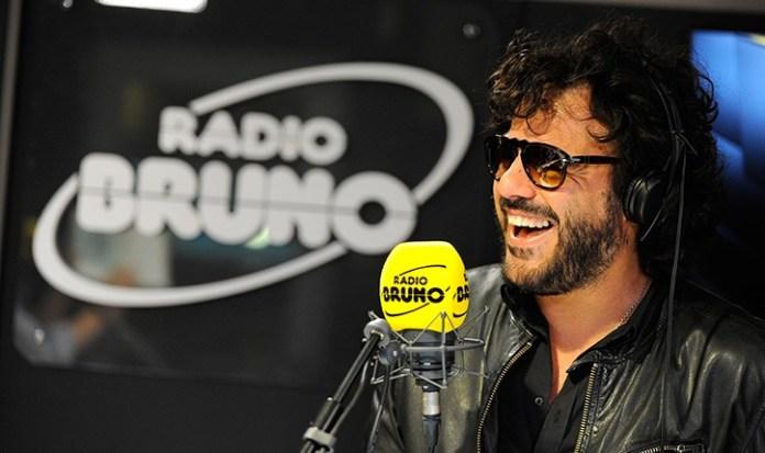 Il cantante bresciano Renga a RadioBruno