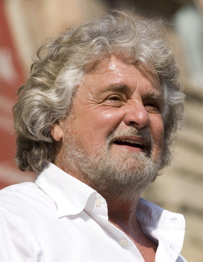 Beppe Grillo, foto da Wikipedia