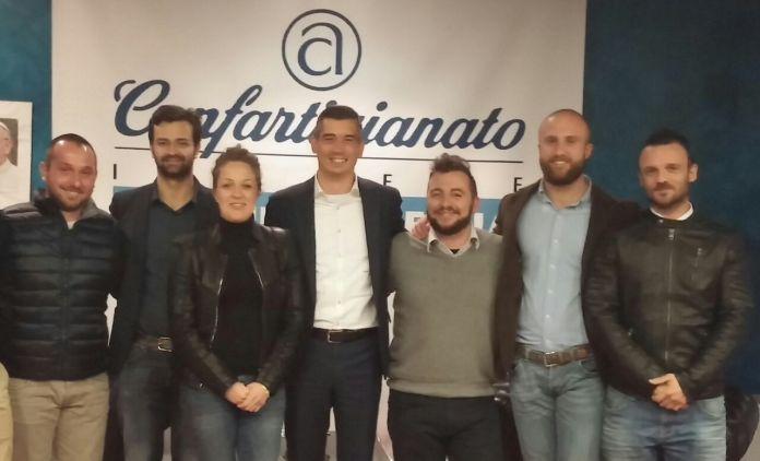 La foto del nuovo gruppo giovani di Confartigianato, www.bsnews.it