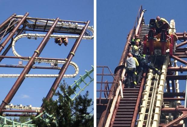 Gardaland, salta l'elettricità e i turisti rimangono a testa in giù