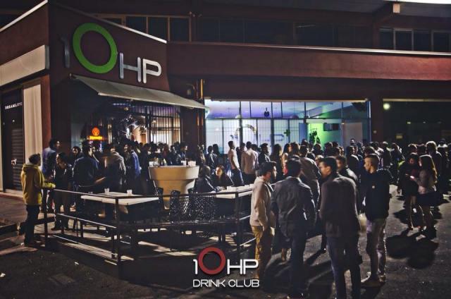 L'esterno del locale 10hp di Concesio, foto presa da Facebook, www.bsnews.it