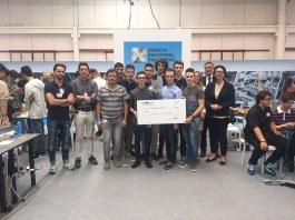 """L'Istituto di Istruzione Superiore Tassara-Ghislandi Di Breno ha vinto il concorso IIR """"Innovation Inspires Robots"""", tenutosi oggi presso il Centro Fiera di Montichiari in occasione della Fiera BIE"""