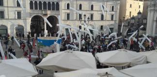 Un evento in piazza Loggia, foto del sindaco Emilio Del Bono, www.bsnews.it