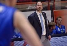 L'allenatore del Basket Brescia, Andrea Diana, foto da ufficio stampa, www.bsnews.it