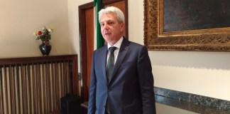 Il nuovo prefetto di Brescia Annunziato Vardè, foto Andrea Tortelli, www.bsnews.it