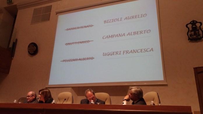 Il facsimile della scheda dell'assemblea di Banca Valsabbina, foto Andrea Tortelli, www.bsnews.it