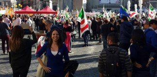 Mariateresa Castellini di Cazzago San Martino, foto da Facebook