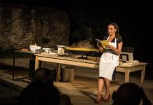 Una scena di Racconti di zafferano, in programma venerdì in via Vantini, a Brescia