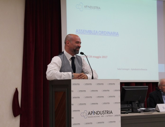 Douglas Sivieri, presidente di Api, foto da ufficio stampa, www.bsnews.it