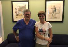 I medici Tabaracci e Covi (presidente e segretario nazionale Fio), entrambi del Poliambulatorio San Rocco di Montichiari
