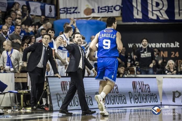 Alessandro Magro, assistant coach del Basket Brescia - foto da ufficio stampa