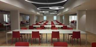 L'aula studio nell'ex Buonissimo in corso Mameli