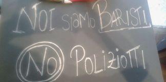Il cartello di protesta preparato dalle gestrici del bar Le Sorelle di Casazza, chiuso temporaneamente dalla questura, foto da pagina Facebook