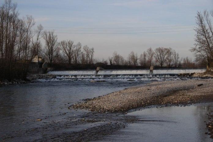 La diga sul Chiese tra Acquafredda e Visano